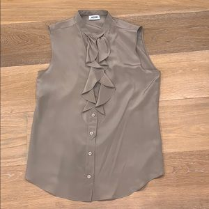 Moschino silk sleeveless top